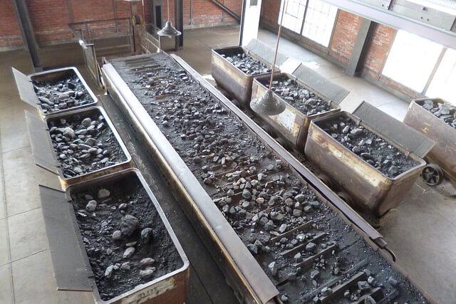 węgiel kamienny - wydobycie